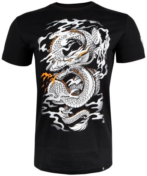 Футболка Venum Dragon's Flight Black/White 00655 в Челябинске
