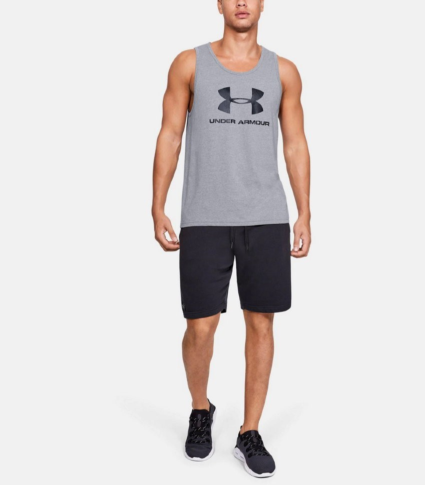 Майка Under Armour SPORTSTYLE LOGO TANK 1329589-036 в Челябинске